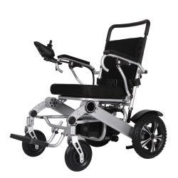 Легкая алюминиевая инвалидов складные электрического питания инвалидной коляске