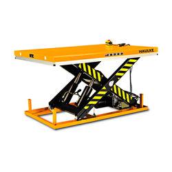 静止油圧式電動式シザーリフトテーブル、シザーリフト販売用