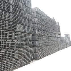 20*20-400*400 Taille S235JR / noir SS400 section creuse carrées et rectangulaires Ms Tube en acier soudé