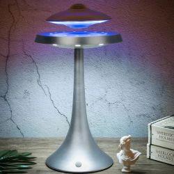 Волшебный Bluetooth аудио магнитных Levitation LED настольная лампа с плавающей запятой земного шара акустические Levitation Levitating Глобус магнит с плавающей запятой Levitation Trick магнитных модель B