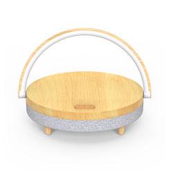 Drahtlose aufladenkleine LED Schreibtisch-Lampe des Bluetooth Lautsprecher-