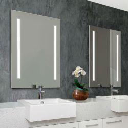 Interruttore decorativo fissato al muro Defogger di tocco di Frameless della decorazione domestica dell'hotel che oscura lo specchio illuminato Backlit di trucco illuminato specchio LED della stanza da bagno