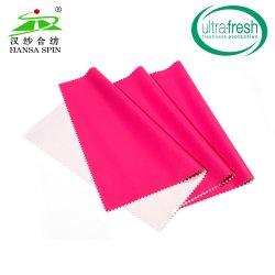 Factory Outlet Moda Rose rojo PU Laminado de cuero tejido de cuero