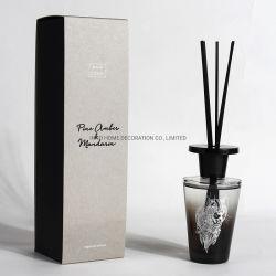 ホームガラスビンの芳香のリードオイルの拡散器のファイバーの棒のギフトセット