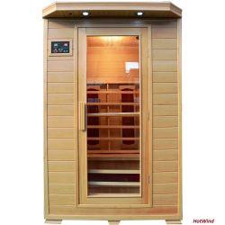 Sauna de Infravermelhos de madeira Plug and Play Fabricante de cabina