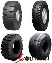 Pá carregadeira de pneus sólidos 33.25-35 OTR 17.5-25 20.5-25 23.5-25