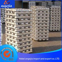 非鉄金属の高品質亜鉛インゴット