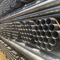"""Mme tuyau rond noir DN DN250300 carter 1/4"""" pour l'eau de puits profond du tuyau de l'extrémité biseautée"""