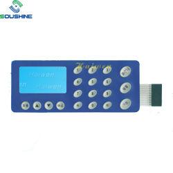 Nouveau style de bouton plat matrice interrupteur à membrane en caoutchouc de silicone