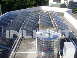 Projet de chauffage solaire thermique de l'eau