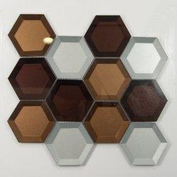 Design de parede murais Chip Personalizado arte abstracta mosaico de vidro Irregular