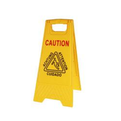 Signe personnalisé Attention plancher mouillé signe Safety signe signes d'avertissement plancher mouillé