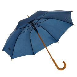 عرض مخصص رخيص للمصنع الأحمر Automatic على التوالي المظلات الخشبية القديمة مقبض تعليق خشبي تلقائي مفتوح مقاس 23 بوصة مع ذراع كلاسيكية مظلة رجل خارجي