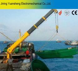 Китай производитель 4-тонных гидравлических судно кран для подъема