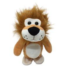 L'OEM personalizza la registrazione sveglia di voce del leone & il giocattolo di ripetizione ed ambulante della peluche