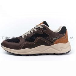Novo Estilo de homens Sapatas Casual Calçado de lazer de três cores Fashion Warking equipamento executando o calçado desportivo respirável calçado tênis calçado