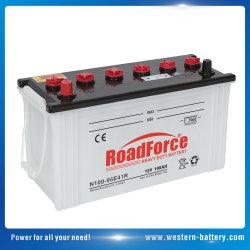 N100 Batterij van het Lood van de Cel van de Last van Japan de Standaard Droge Zure Auto voor Auto en Lichte Vrachtwagen