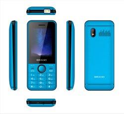 최신 판매 2.4 인치 OEM 바 전화 도매 무선 FM를 가진 싸게 자물쇠로 열린 특징 전화