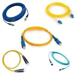 Modo único de alta qualidade sc/FC/LC/ST/MU/MTRJ/MPO Fiber Optic Patch Cabo de ligação do cabo