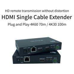 Onlangs gelanceerd ondersteunde HDMI Extender Pair over Single CAT6 Cat5 HDMI UTP Extender 60 meter