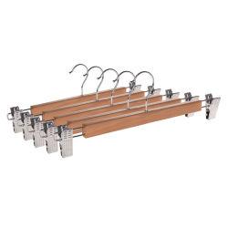 قطع قطع من قطع النمل الخشبية المخصصة على قطع Hangers الملابس السفلية بالجملة لمدة بنطلون