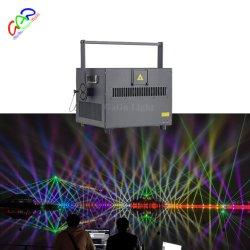 ضوء ليزر متحرك كامل الألوان RGB بقدرة 28 واط