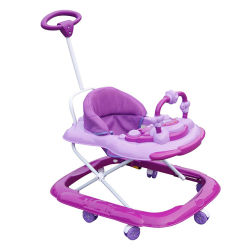 Walk MusicalおよびLight Baby Walker Toyへの赤ん坊Walking Assistant Toddler Learn