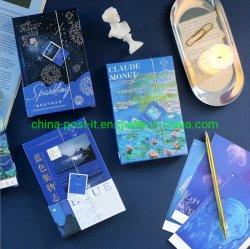 30PCS pro Set Firworks Drucken-Entwurfs-Papier-Postkarte