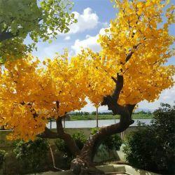 El paisaje de árboles de fruta de plástico de la luz LED de hojas de árbol de la iluminación decoración de flores