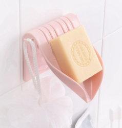 درج الصابون للتفريغ الذاتي من الشلال مصنوع من البلاستيك على شكل حرف V للدش مطبخ الحمام