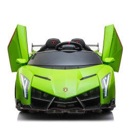 D'une licence Lamborghini Commande à distance pour les enfants Les enfants Jouets Voiture électrique avec MP3 alimenté par batterie 2.4G Bluetooth