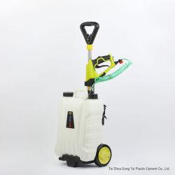 15L jardín de 7,2 V/mochila de batería de litio de seguimiento de la pulverizadora