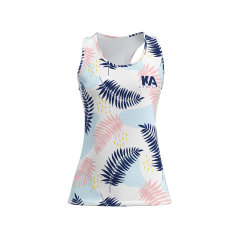 Sublimation Printingの女性のTank Top Summer Sport Beach Wear