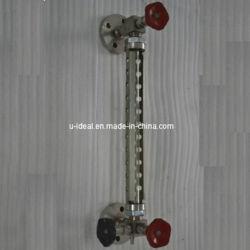 Wasser-Öl-flüssige Stufen-Messen-Einheit-Glas-waagerecht ausgerichtetes Anzeigeinstrument