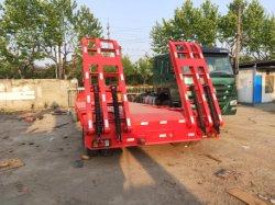 Usado China nº1 da marca no mercado interno Kunbo 3 Eixos Liso Reboque Lkb9400TDP em venda, a segunda cama baixa