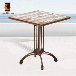 Prueba de óxido de aluminio de ocio Patio al Aire Libre jardín muebles de mimbre Rattan silla de mesa (puedo-50027)