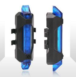 소형 LED 자전거 빛 USB 비용을 부과 꼬리등 자전거 미등 방수 후방 자전거 빛
