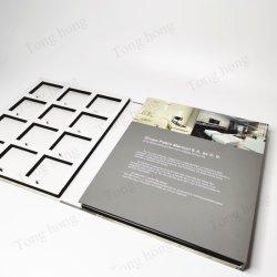 Trois livres de l'échantillon Foldings avec EVA Le bac de la vente par l'usine