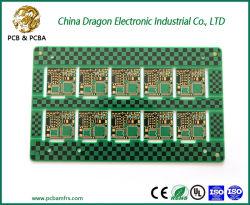 El verde intenso de buena calidad de impresión de oro Fr4 el circuito impreso