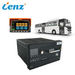 공용 버스 1080p DVR 8 채널 AHD 모바일 DVR 및 2 채널 IPC 지원 최대 2 SSD HDD 모바일 DVR