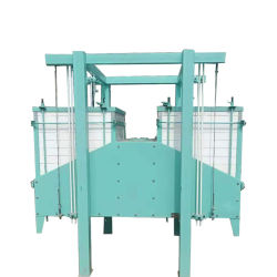 Classificação e separação de pó de moagem de Compartimento Duplo Máquina de tela
