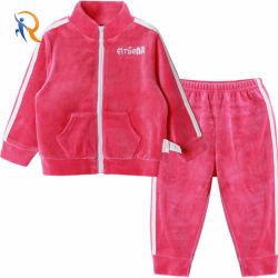 I bambini su ordinazione scaldano i vestiti della neonata di modo impostati sport 2PCS
