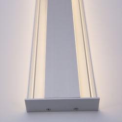 아래로 높은 쪽으로 벽으로 막는다 SMD 지구 3528를 위한 LED 지구 밀어남 빛 알루미늄 U 단면도를 체중을 줄이십시오