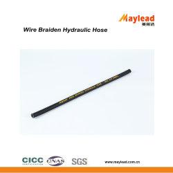 Il filo di acciaio ad alta pressione intreccia il tubo flessibile di gomma