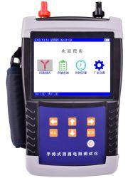 Interruptor de alta tensión el disyuntor de mano de prueba de resistencia de bucle Tester