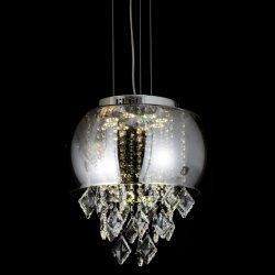 Подвесной светильник со стеклянным кувшином и Crystal Reports декор светодиодный источник света (MC1835-400)