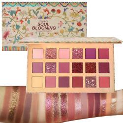 Grande marque de qualité haute Pigment fard à paupières palette La palette de produits cosmétiques personnalisés