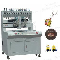 Caucho de silicona de PVC líquido automática máquina de hacer llaves