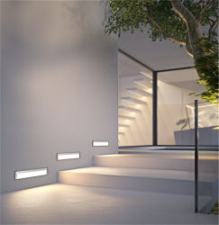 Perfis de Aluminio dissipateur en aluminium diffuseur d'Extrusion de Montage Mural LED 12mm de largeur de profils avec clip à ressort ou le clip en métal