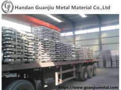 Prix compétitif/99.7 Lingots d'aluminium de haute pureté %~99,9 %